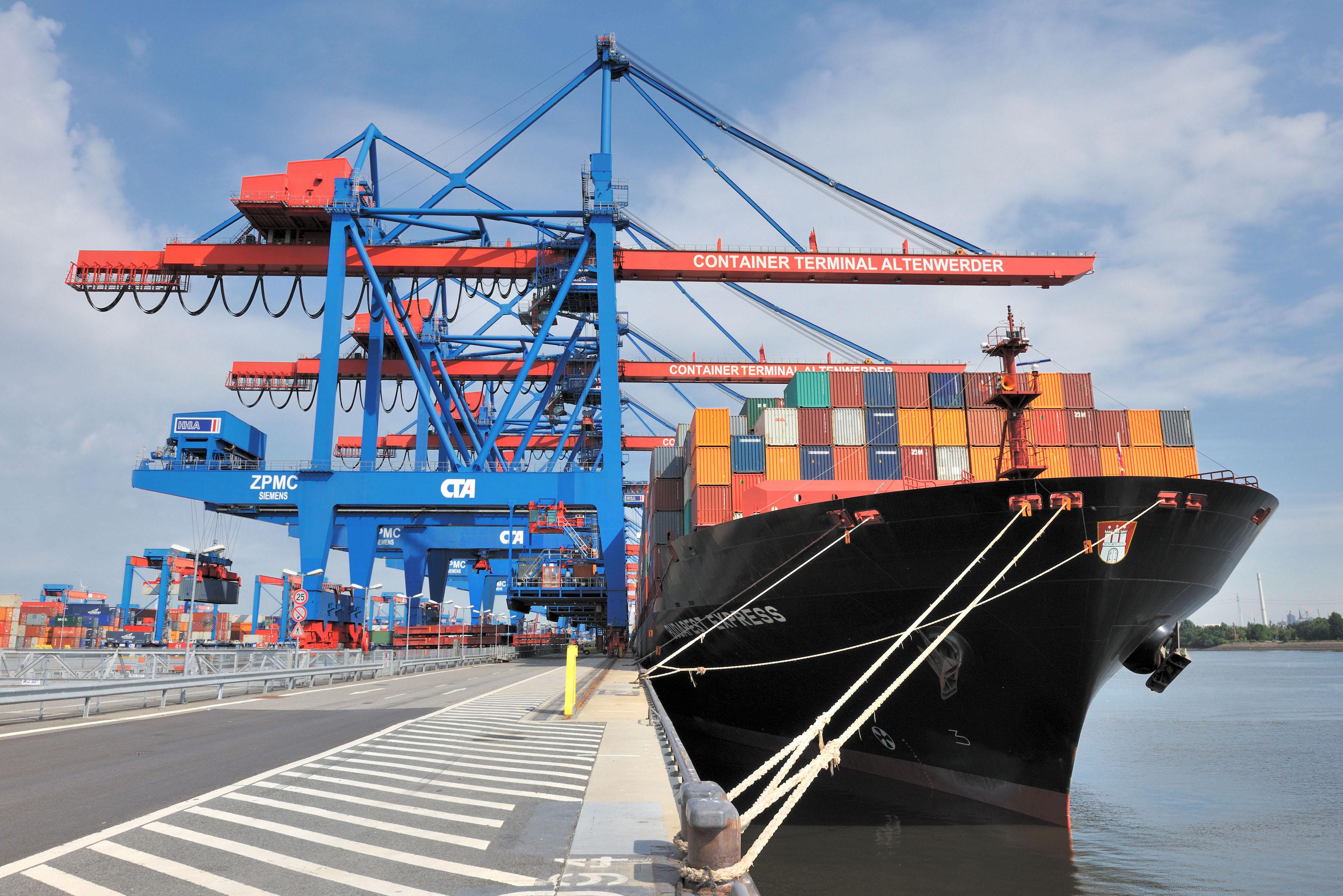 Containerterminal Altenwerder 08