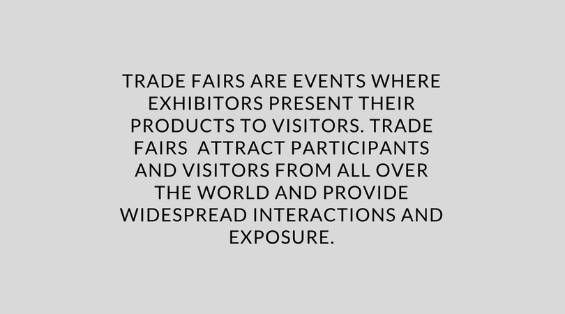 trade-fairs-are-events-where-exhibitors-present-their-products-to-visitors