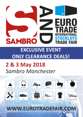 SAMBRO & Eurotrade Fair 2 & 3 May 2018 Manchester